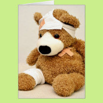 Get well soon one-upper card