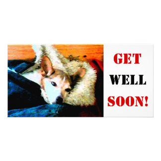 Get Well Soon! Photo Card