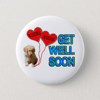Get Well Soon Pinback Button
