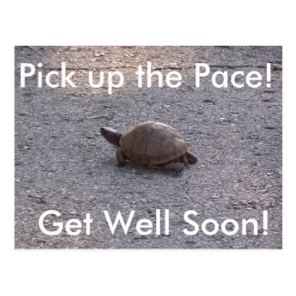 Get Well Soon Postcard