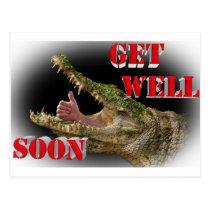 get well soon postcard