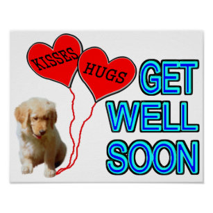 get well soon posters photo prints zazzle