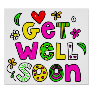 Get Well Soon Poster
