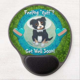 Get Well Soon! Speedy Recovery! Illness Well Wish! Gel Mouse Pad