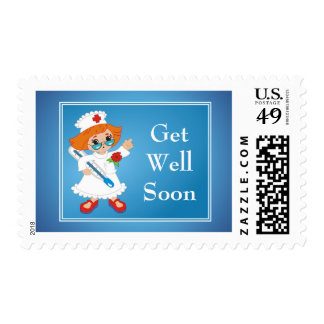 Get Well Soon Stamp