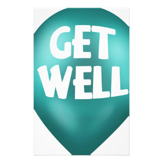 Get Well Stationery