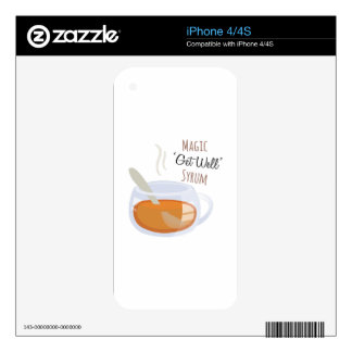 Get Well Syrum Decal For iPhone 4S