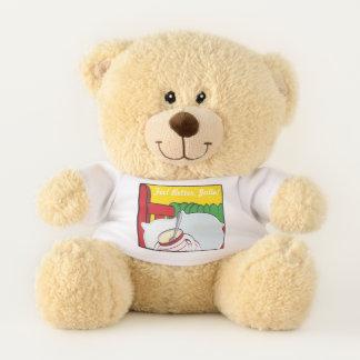"""""""Get Well Teddy"""" Sherman Teddy Bear"""