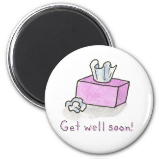 Get Well Tissues Magnet
