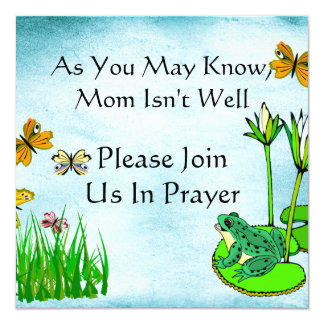 Get Well Water Pond Set Invitation