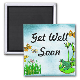 Get Well Water Pond Set Magnet
