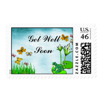 Get Well Water Pond Set Stamps