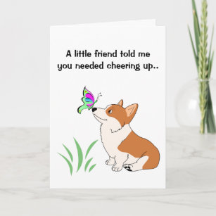 Welsh greetings gifts on zazzle get well welsh corgi greeting card m4hsunfo