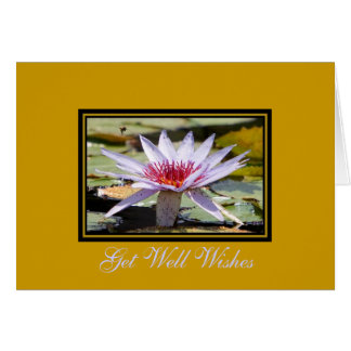 Get Well Wishes Stationery Note Card