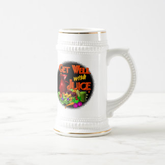 Get well with Juice on 100+ items Valxart.com Beer Stein