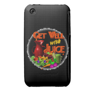 Get well with Juice on 100+ items Valxart.com iPhone 3 Cover