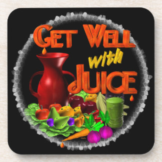 Get well with Juice on 100+ items Valxart.com Coaster