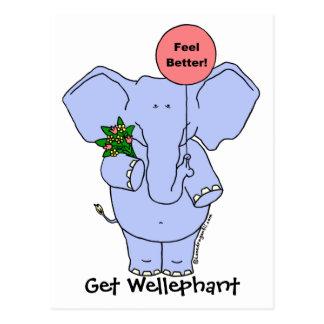 Get Wellephant Post Card