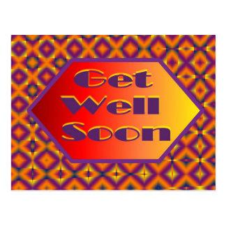 get welll soon post card