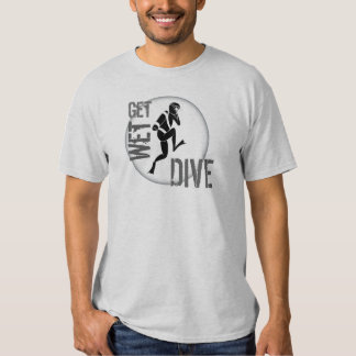 Get Wet Dive Scuba Diver Shirt