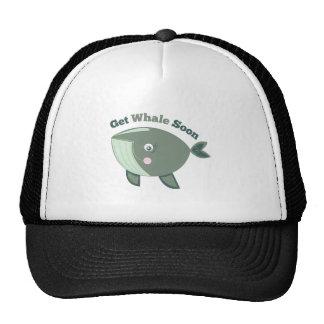 Get Whale Soon Trucker Hat