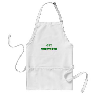 Get Wheysted Adult Apron