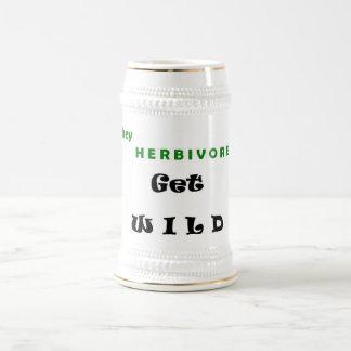 Get Wild Beer Stein Mug