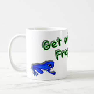 Get with the frogram! coffee mugs