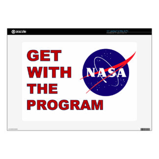 """Get With The Program 15"""" Laptop Skins"""