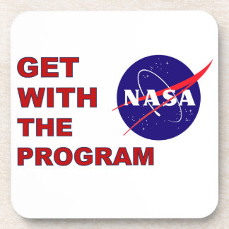Get With The Program Coasters