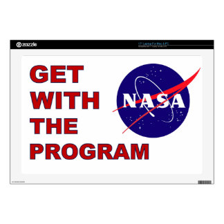 Get With The Program Laptop Skin