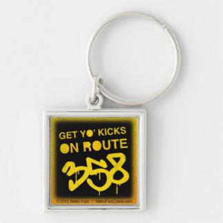 Get Yo Kicks On Route 358 Keychain