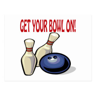 Get Your Bowl On Post Cards