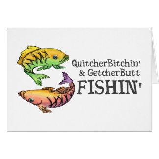 Get Your Butt Fishing Card