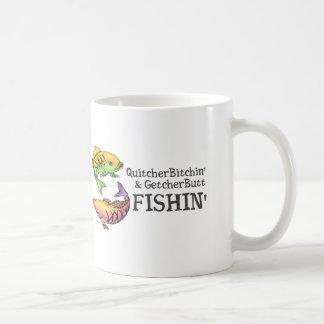 Get Your Butt Fishing! Coffee Mug