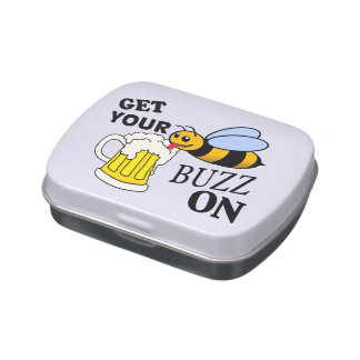 Get Your Buzz On Jelly Belly Candy Tin