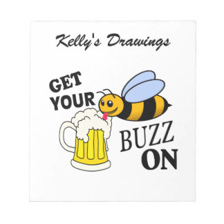 Get Your Buzz On Notepad
