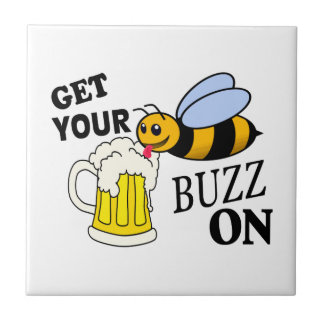 Get Your Buzz On Tile