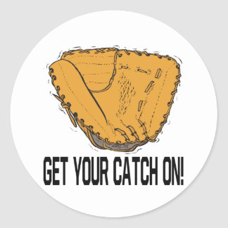 Get Your Catch On Round Stickers