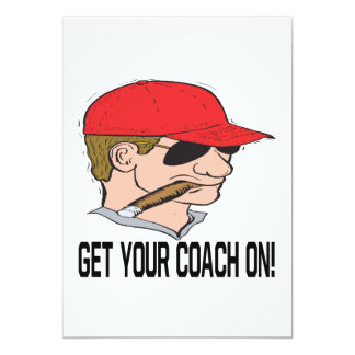 Get Your Coach On Card