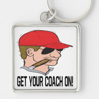 Get Your Coach On Keychain