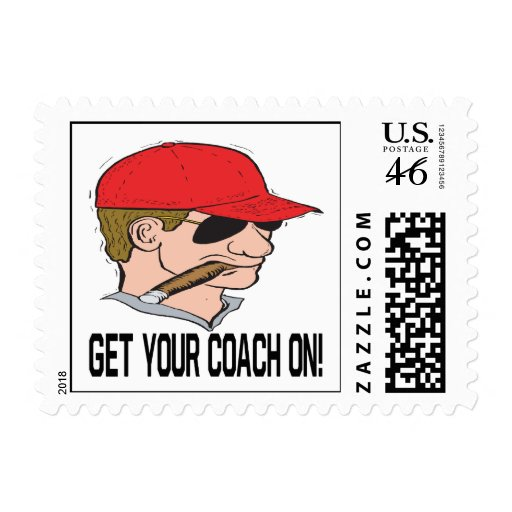 Get Your Coach On Stamp