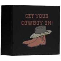 Get Your Cowboy On 2 Binder