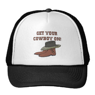 Get Your Cowboy On 2 Trucker Hats