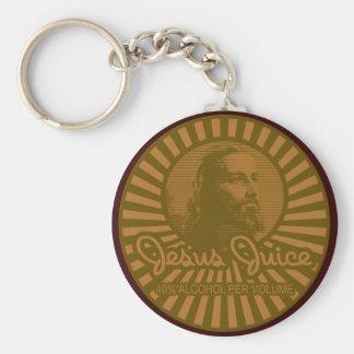Get Your Crunk On Jesus Juice Style Basic Round Button Keychain