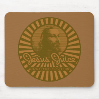 Get Your Crunk On Jesus Juice Style Mouse Pad