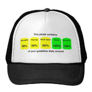 Get your daily amount of pirate goodness! trucker hat