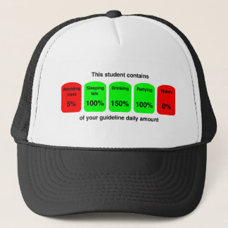 Get your daily amount of student goodness! trucker hat