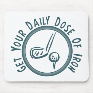 Get Your Daily Dose of Iron Mouse Pad