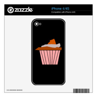 Get your Delicious Cupcake style on. Skins For The iPhone 4S